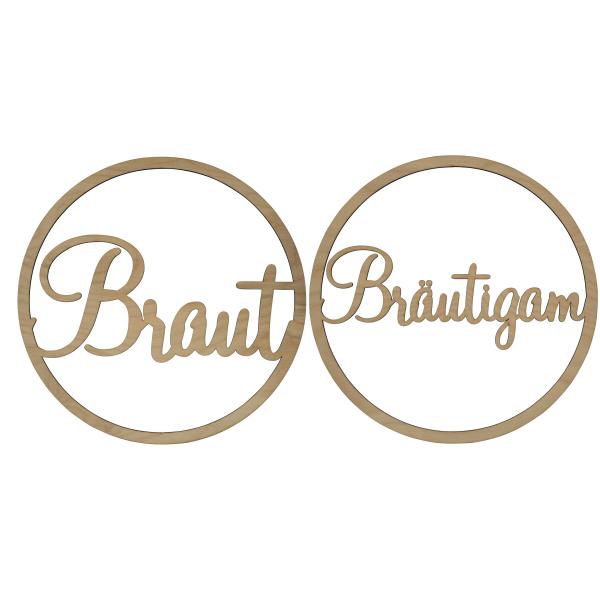 Braut + Bräutigam - Loop Set