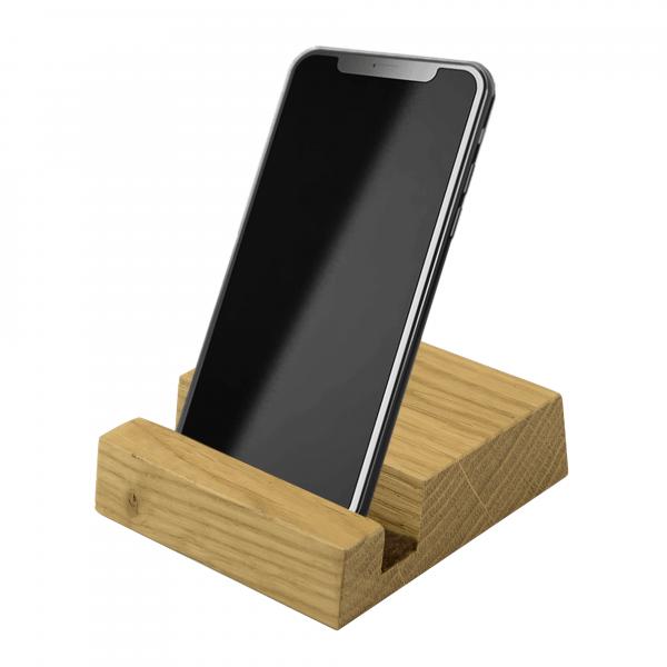 Handyhalter aus Eichenholz