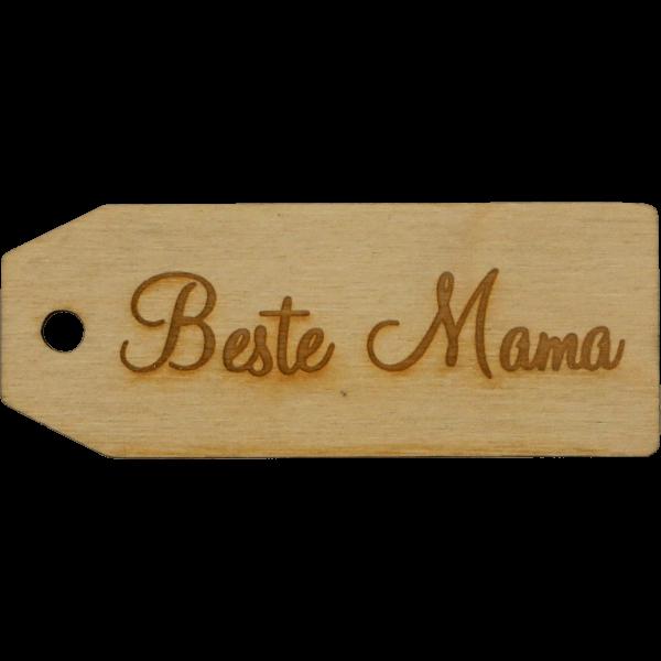 Beste Mama - Geschenk Anhänger ~9cm