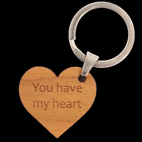 You have my Heart - Schlüsselanhänger