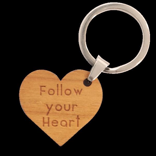 Follow your Heart - Schlüsselanhänger