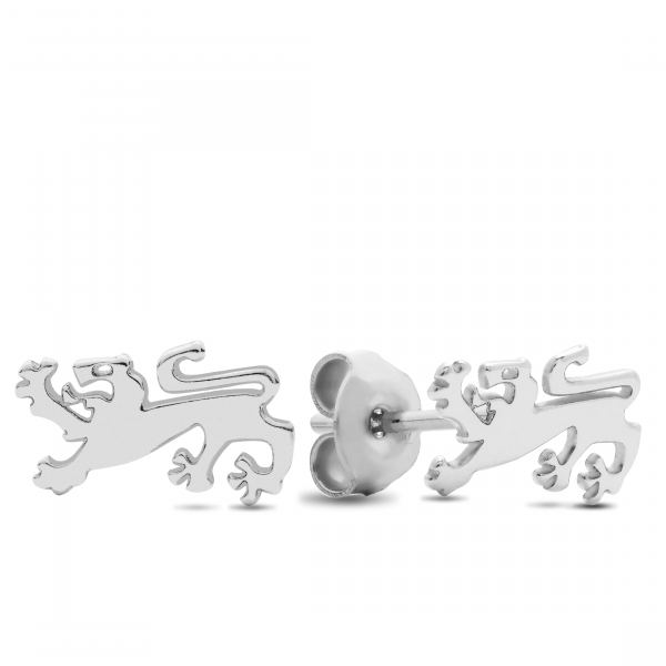 Ohrringe Kärntner Löwe - Silber Ohrstecker