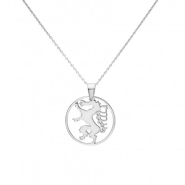 Kette mit kleinem Steirischer Panther- Silber Halskette