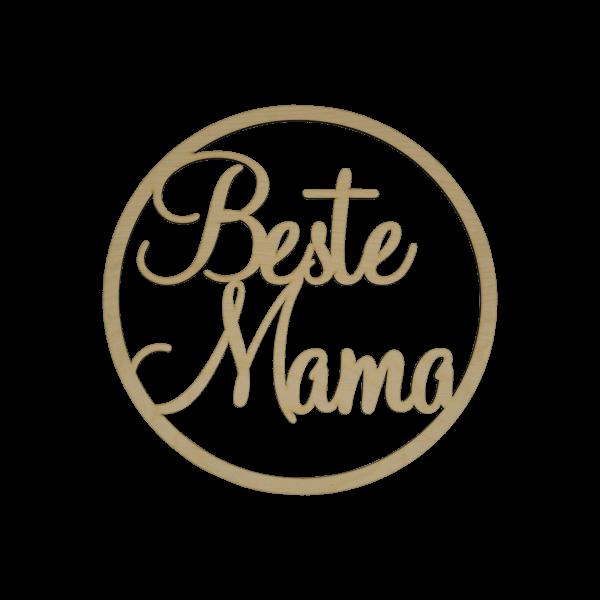 Beste Mama - Loop ~20cm
