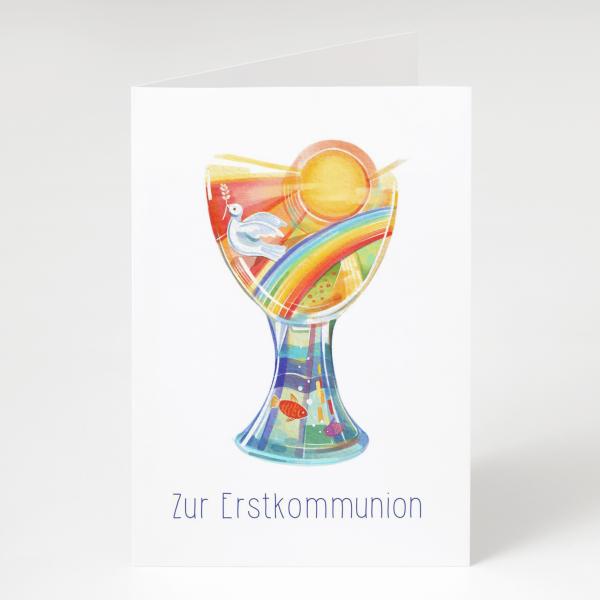 Erstkommunion - Grußkarte
