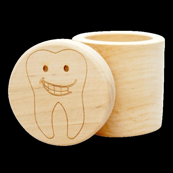 Milchzahnbox - Zahn Motiv
