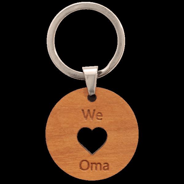 We love Oma - Schlüsselanhänger