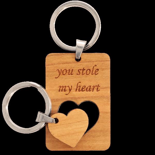 You stole my Heart Set - Schlüsselanhänger