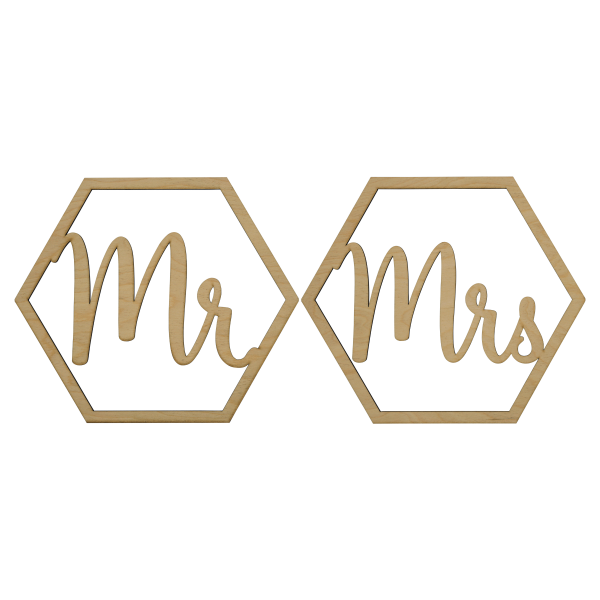 Mr & Mrs - Loop Set