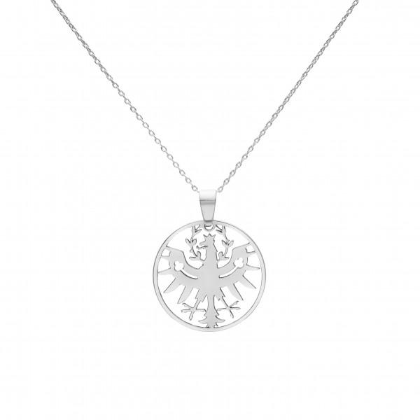 Kette mit kleinem Tiroler Adler Anhänger- Silber Halskette