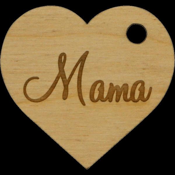 Mama Herz - Geschenk Anhänger ~9cm