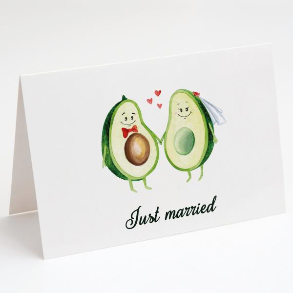 Avocados - Hochzeitskarte - Grußkarte