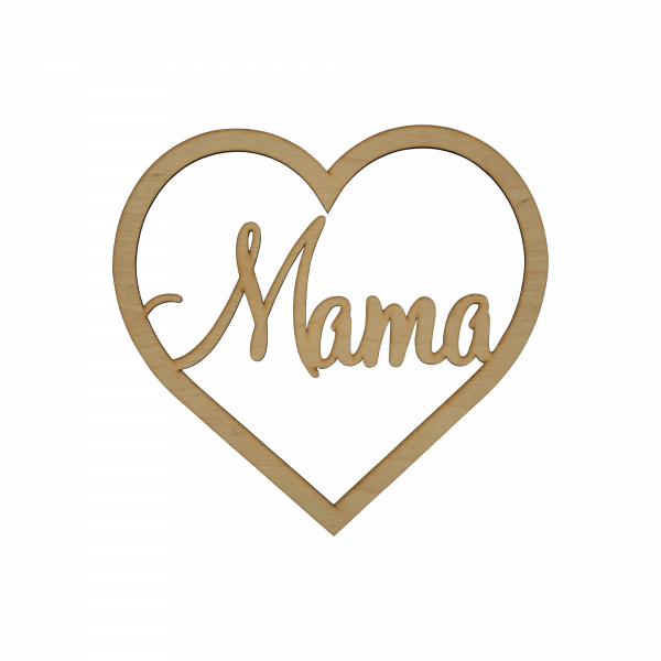 Mama Herz - Loop ~ 20 cm