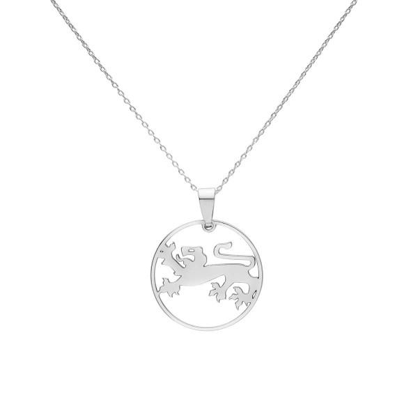 Kette mit kleinem Kärntner Löwe Anhänger- Silber Halskette