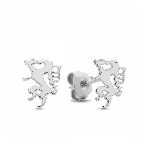 Ohrringe Steirischer Panther - Silber Ohrstecker