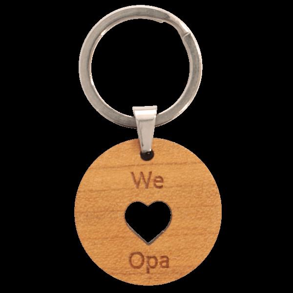 We love Opa - Schlüsselanhänger