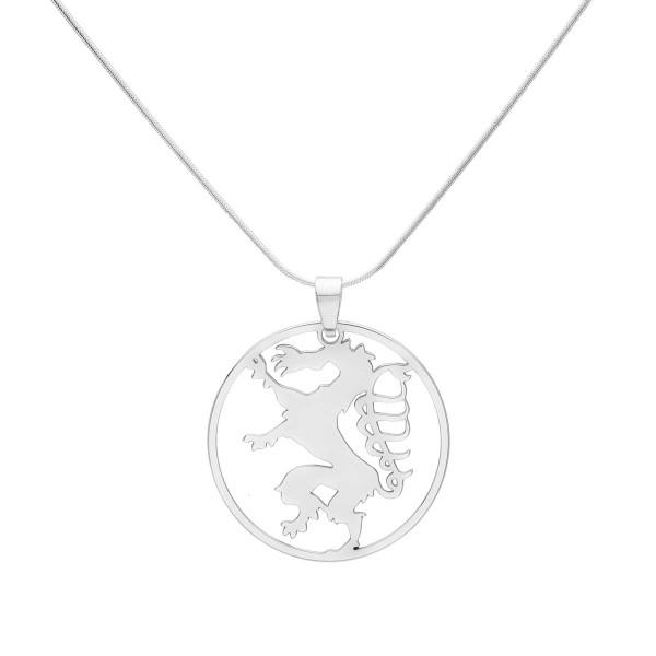 Kette mit großen Steirischer Panther Anhänger- Silber Halskette